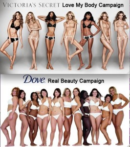 "Dove 'Evolution"" vs Victoria's Secret"
