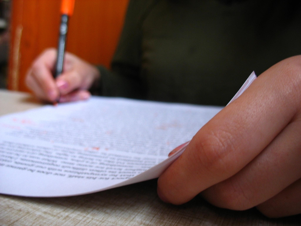 Tips for writing an in-class essay?